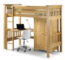 Keswick Home Study Bunk With Desk